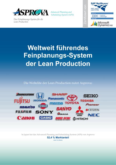 Asprova APS(ドイツ語)