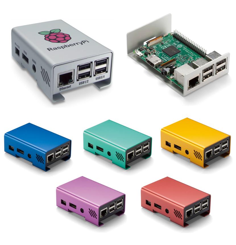 タカチ電機工業 Raspberry Pi 用アルミケース