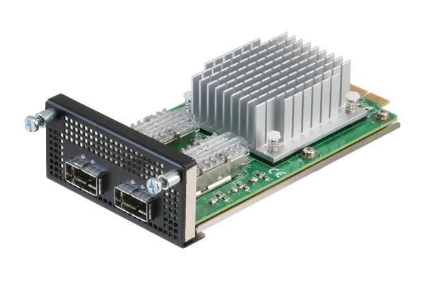 40G QSFP×2ポートNIMモジュール【NIM-S26B】