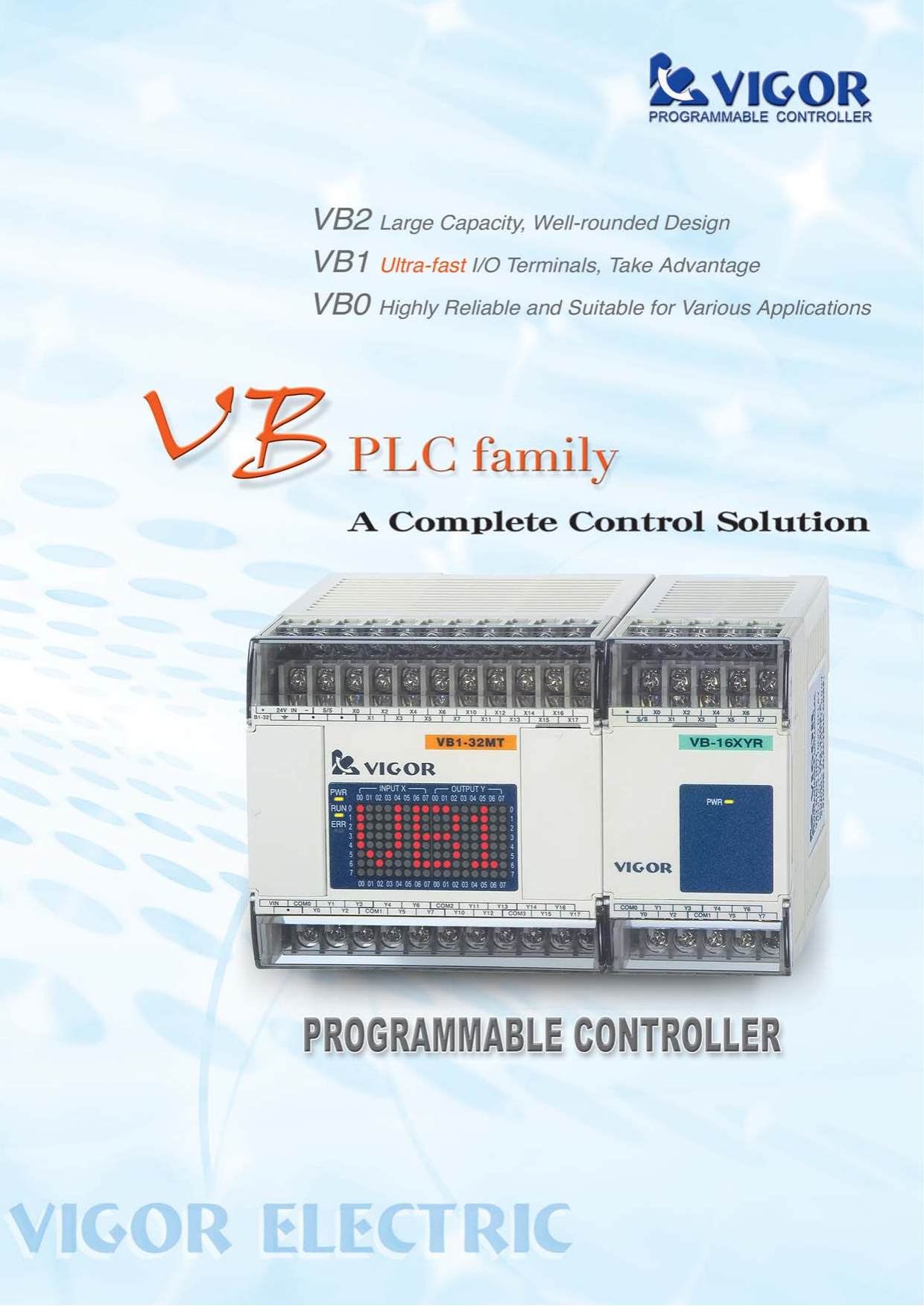 VB series Catalog
