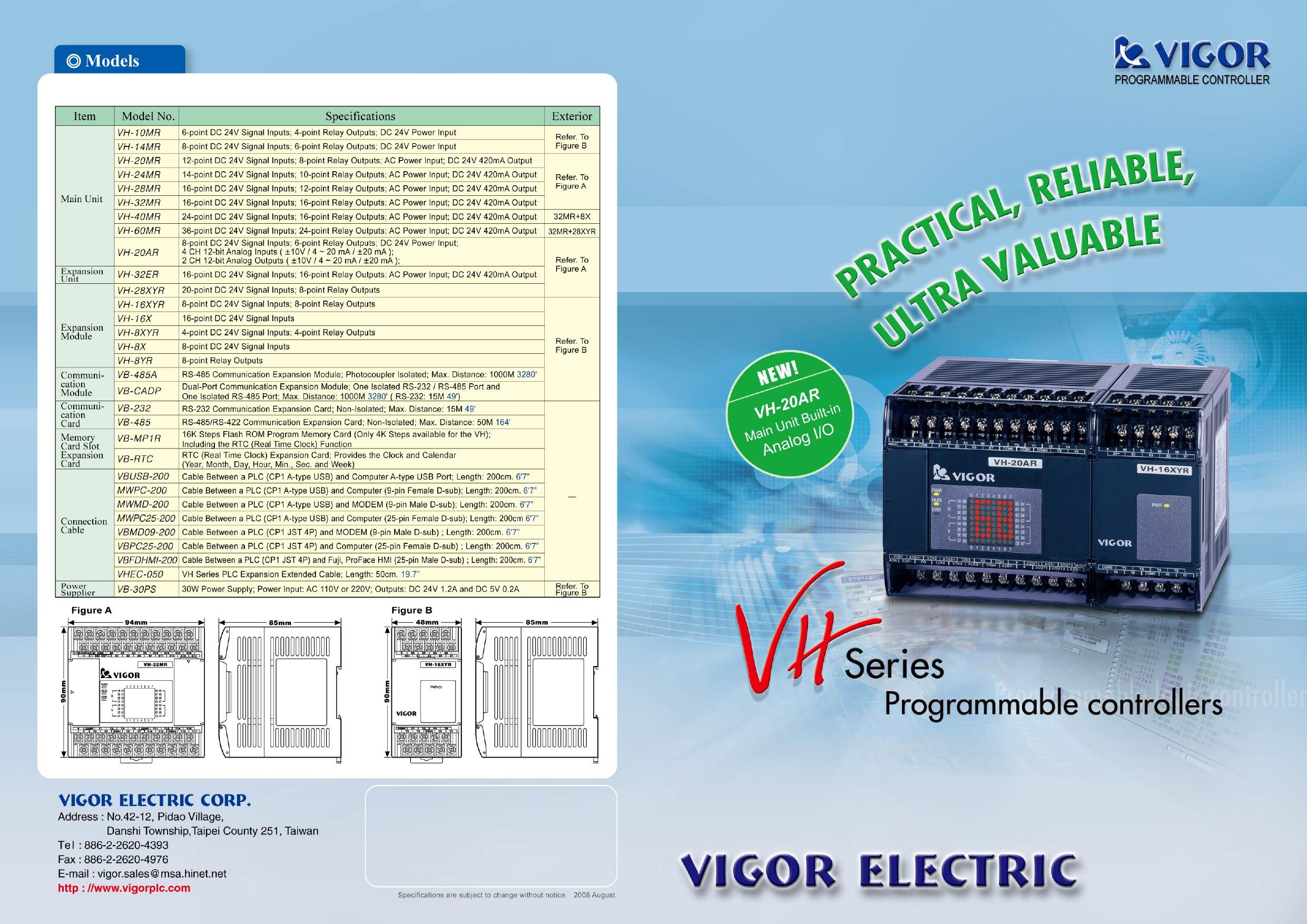 VH series Catalog