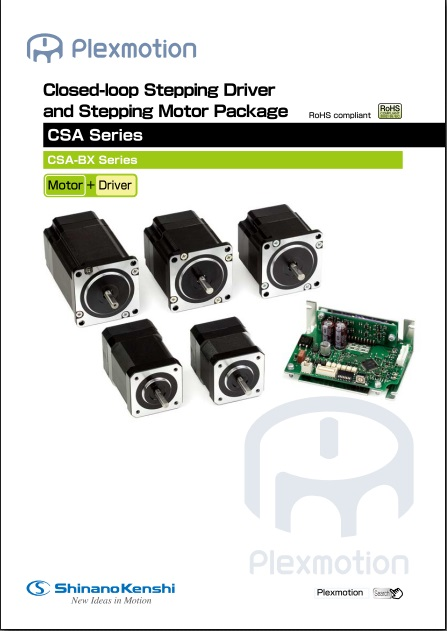 Closed-loop Stepping Driver and Stepping Motor Package