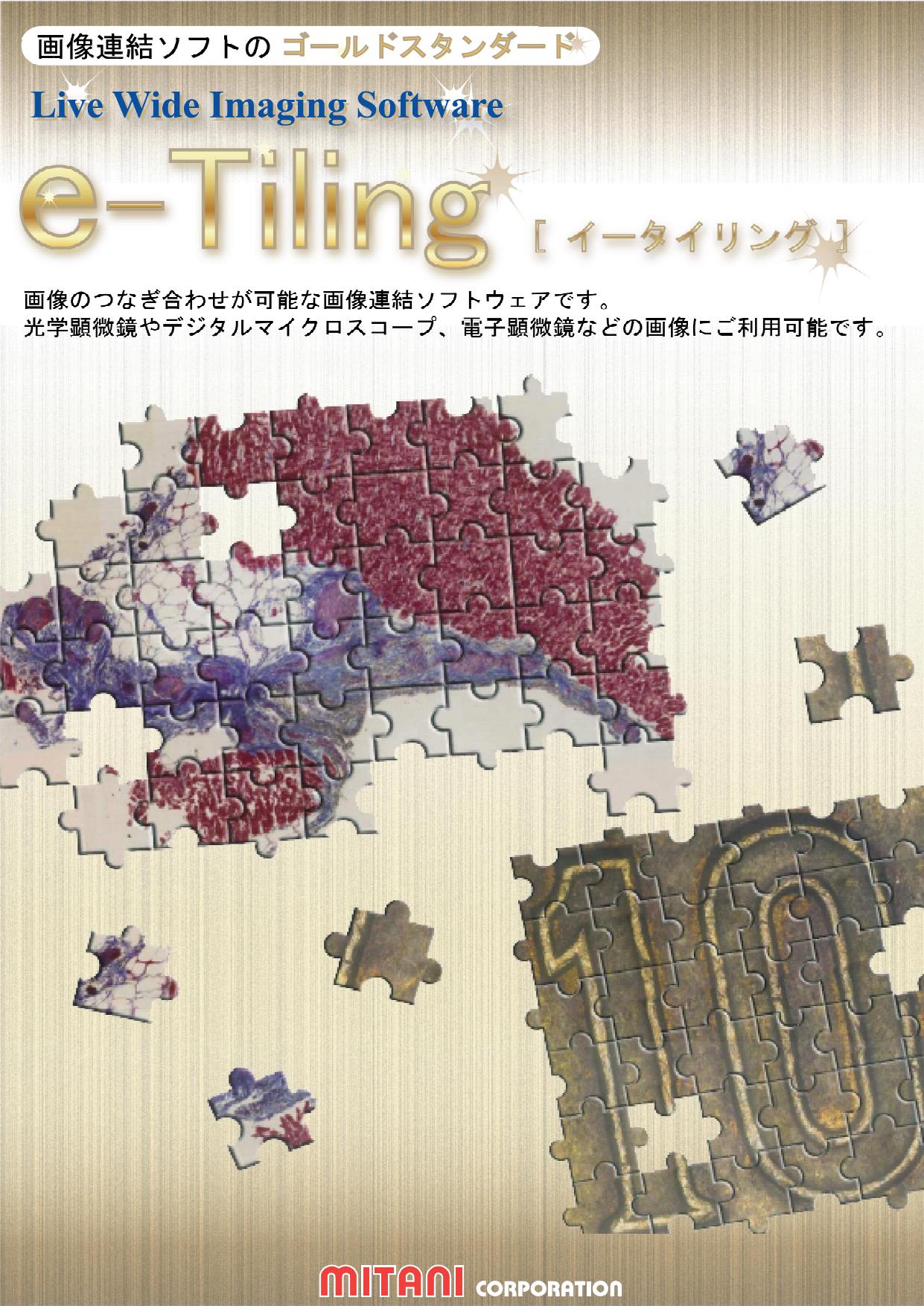 自動画像連結ソフトウェア e-Tiling