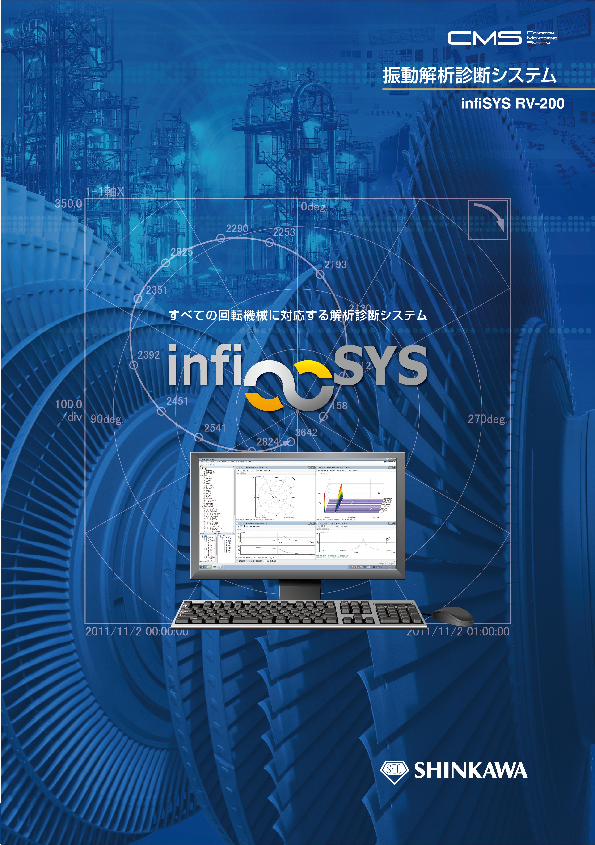 振動解析診断システム infiSYS RV-200