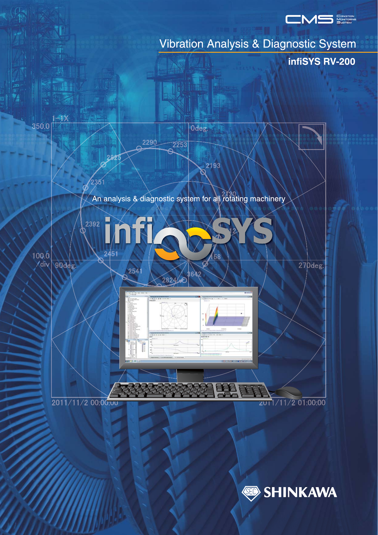 Vibration Analysis & Diagnostic System infiSYS RV-200