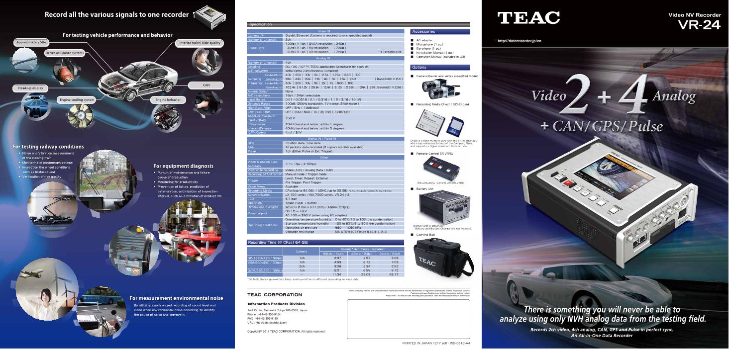 Video NV recorder VR-24