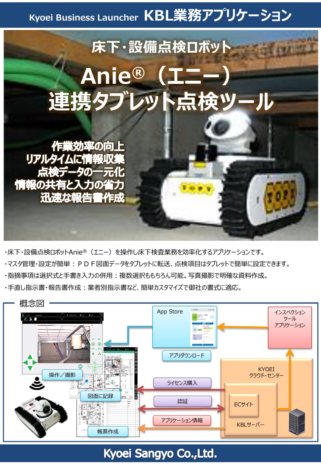 床下点検ロボットシステム