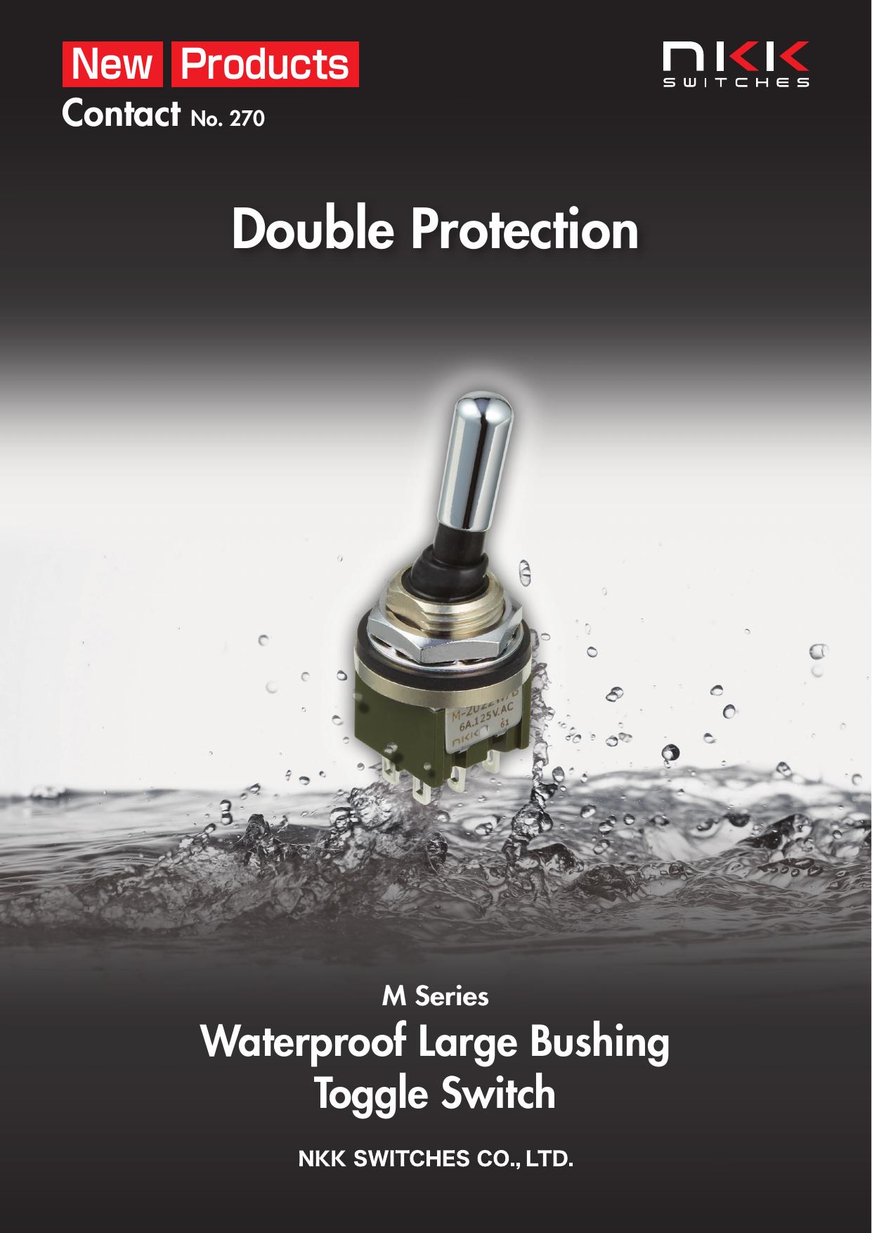 M Series Waterproof Large Bushing Toggle Switch