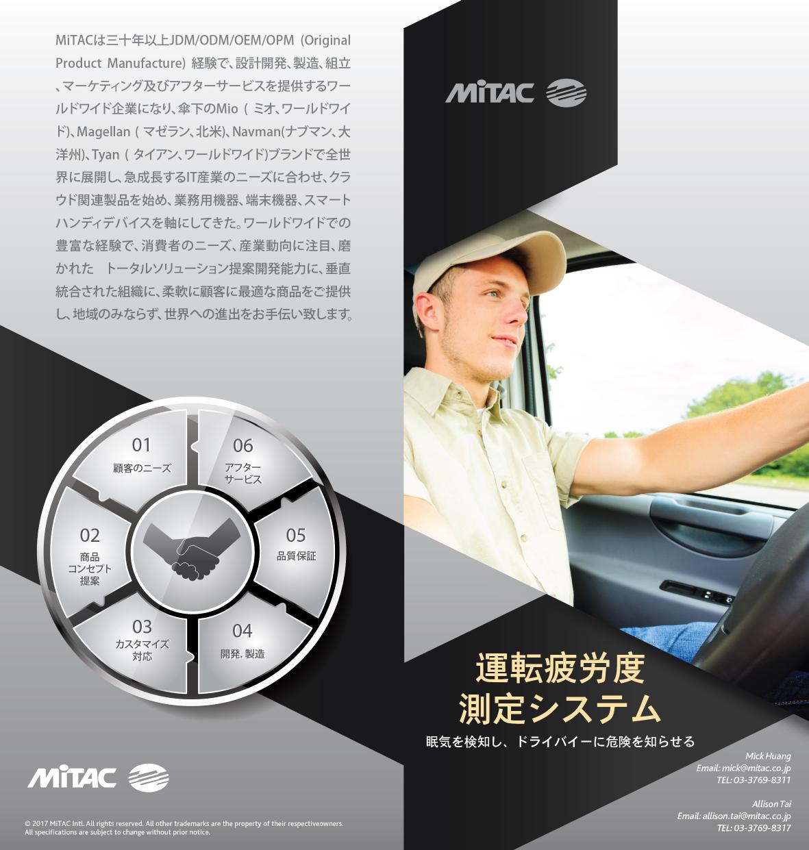運転疲労度測定システム