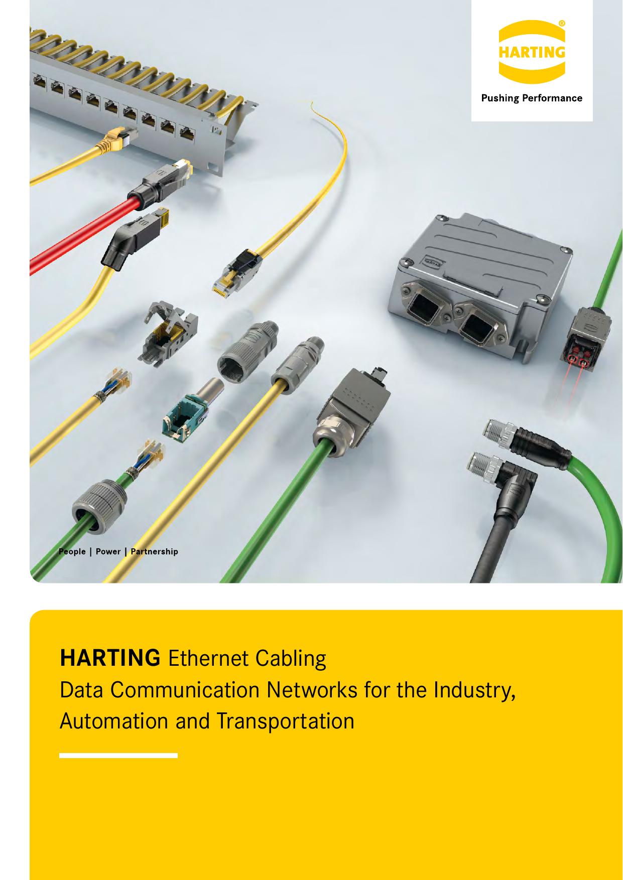 Výsledok vyhľadávania obrázkov pre dopyt Harting ethernet cabling