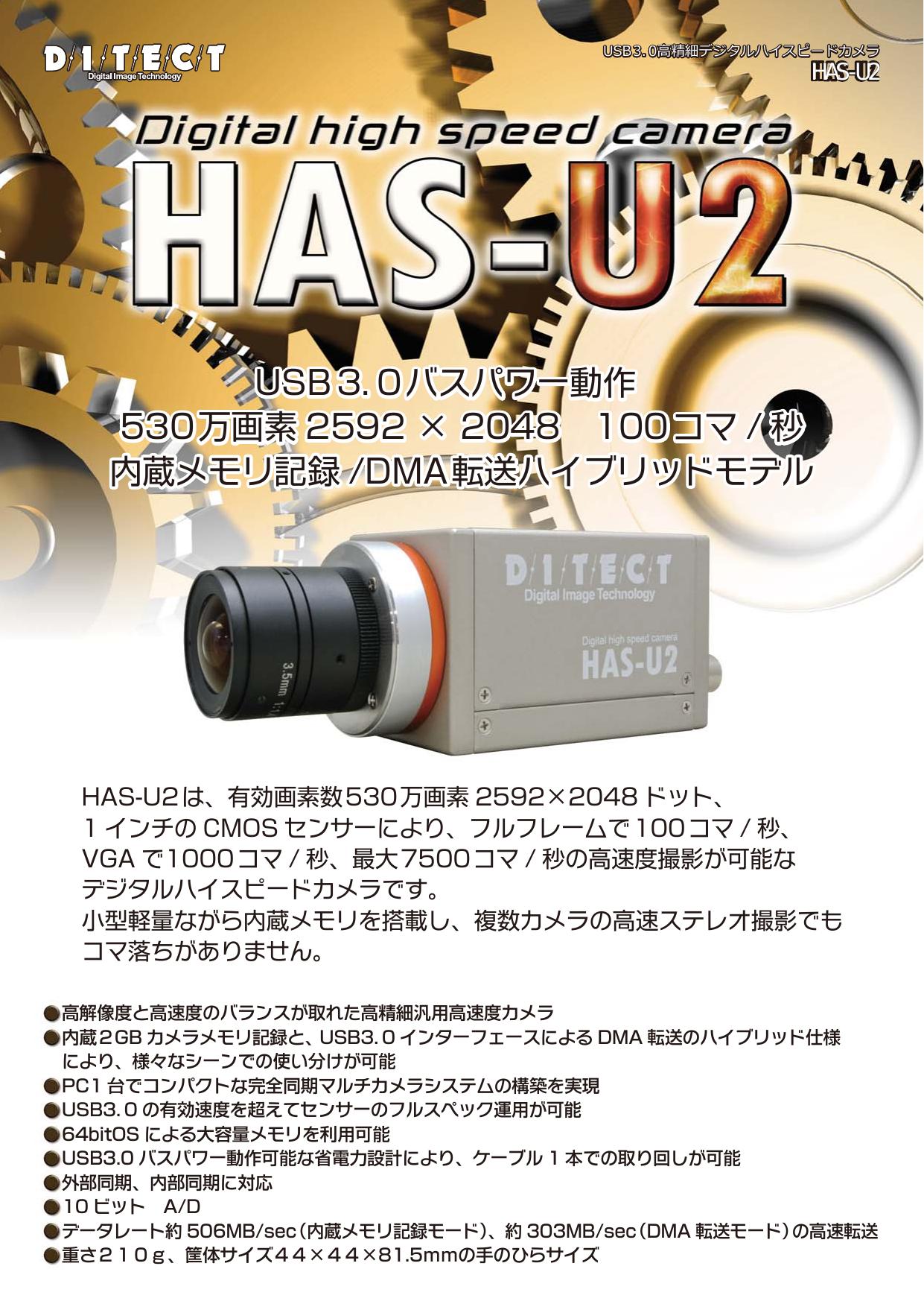 超小型ハイスピードカメラ