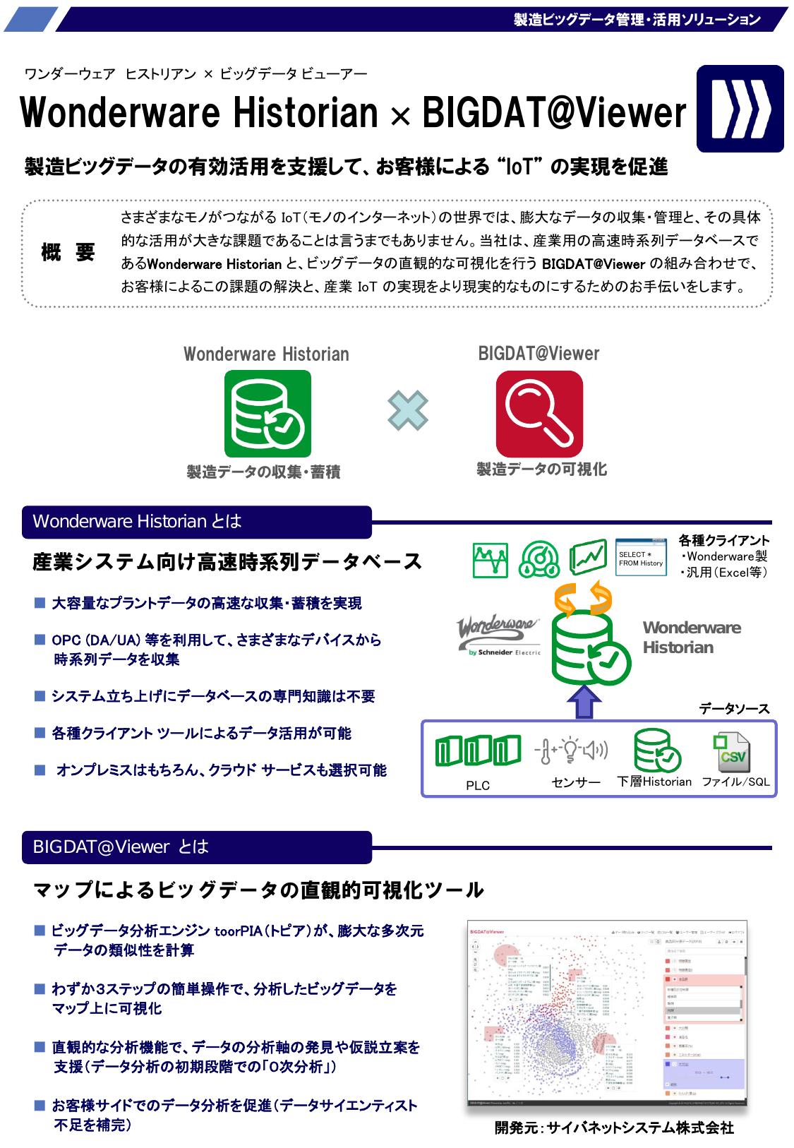 """【""""IoT""""の実現を促進】製造ビッグデータ管理・活用ソリューション"""