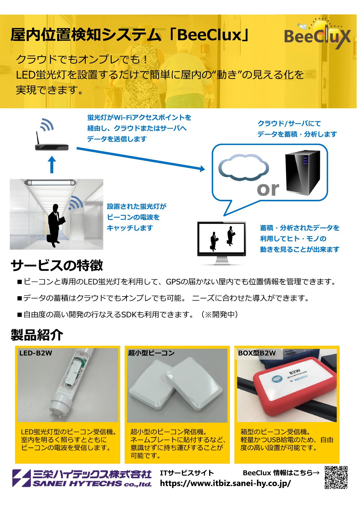 三栄ハイテックス株式会社【IoT展 2017春】 IoT 出展製品一覧