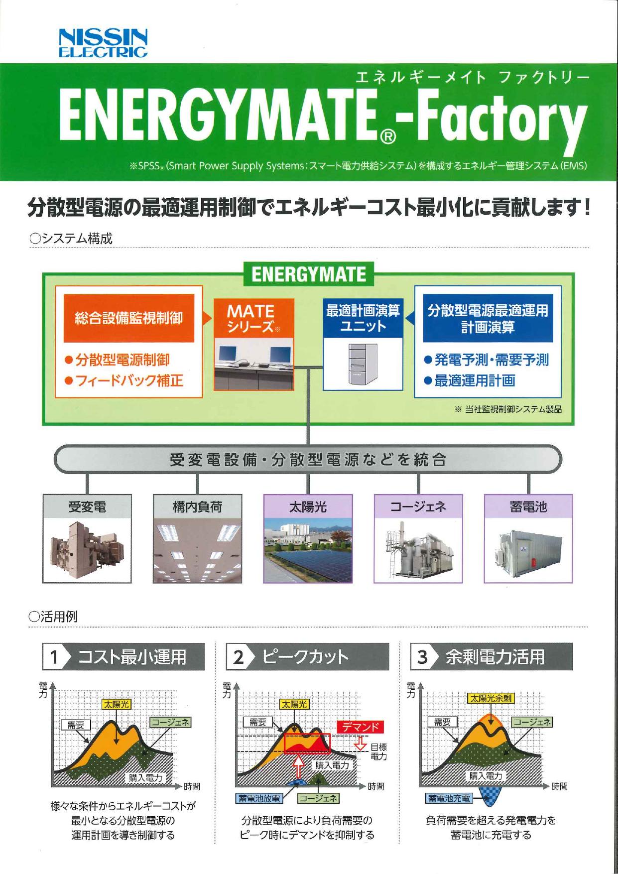 エネルギー管理システム エネルギーメイトファクトリー