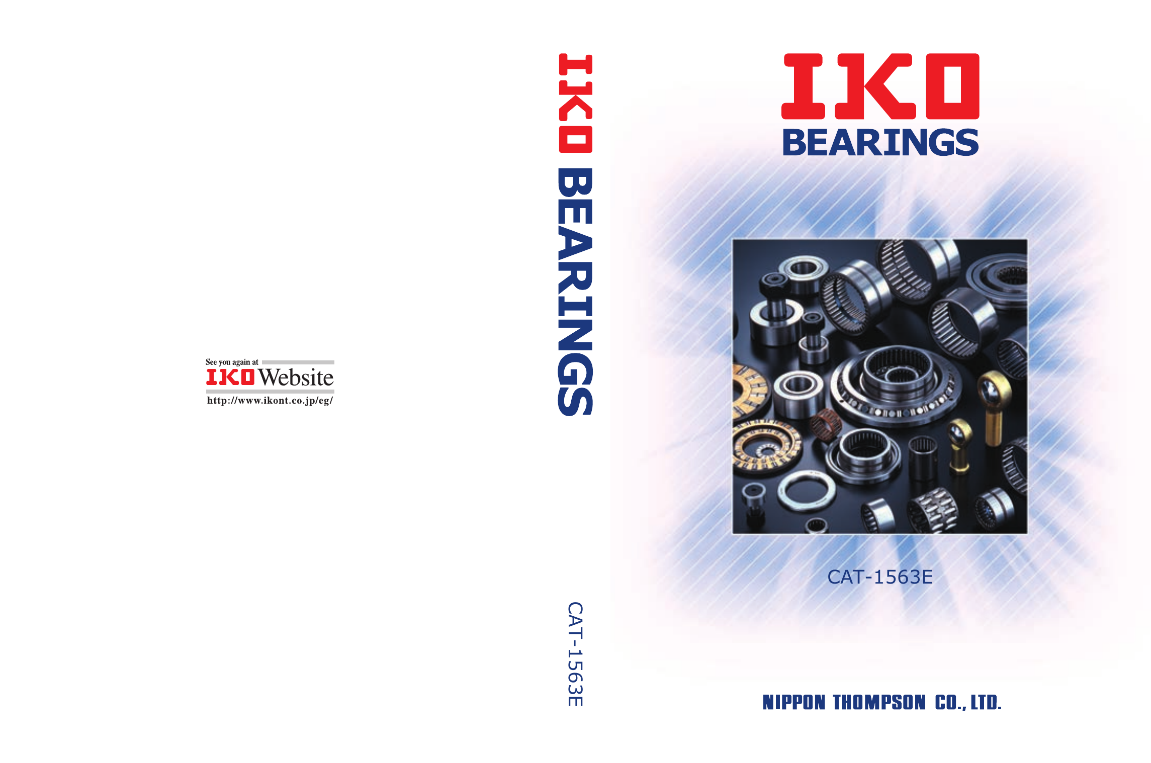 IKO Needle Bearing Series General Catalog.