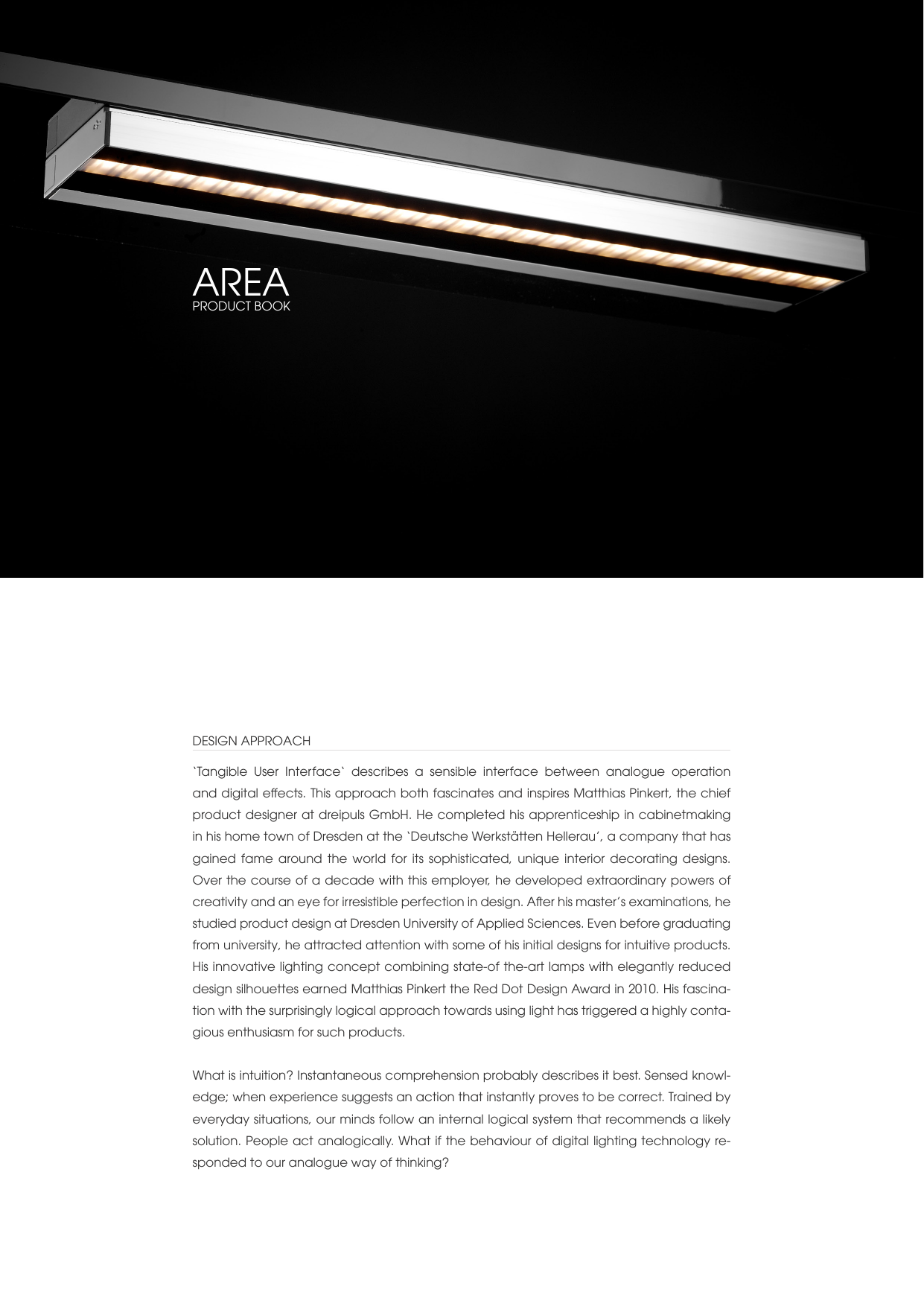 dreipuls Product Book AREA