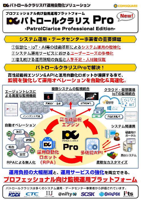 パトロールクラリス Pro(プロフェッショナル版)