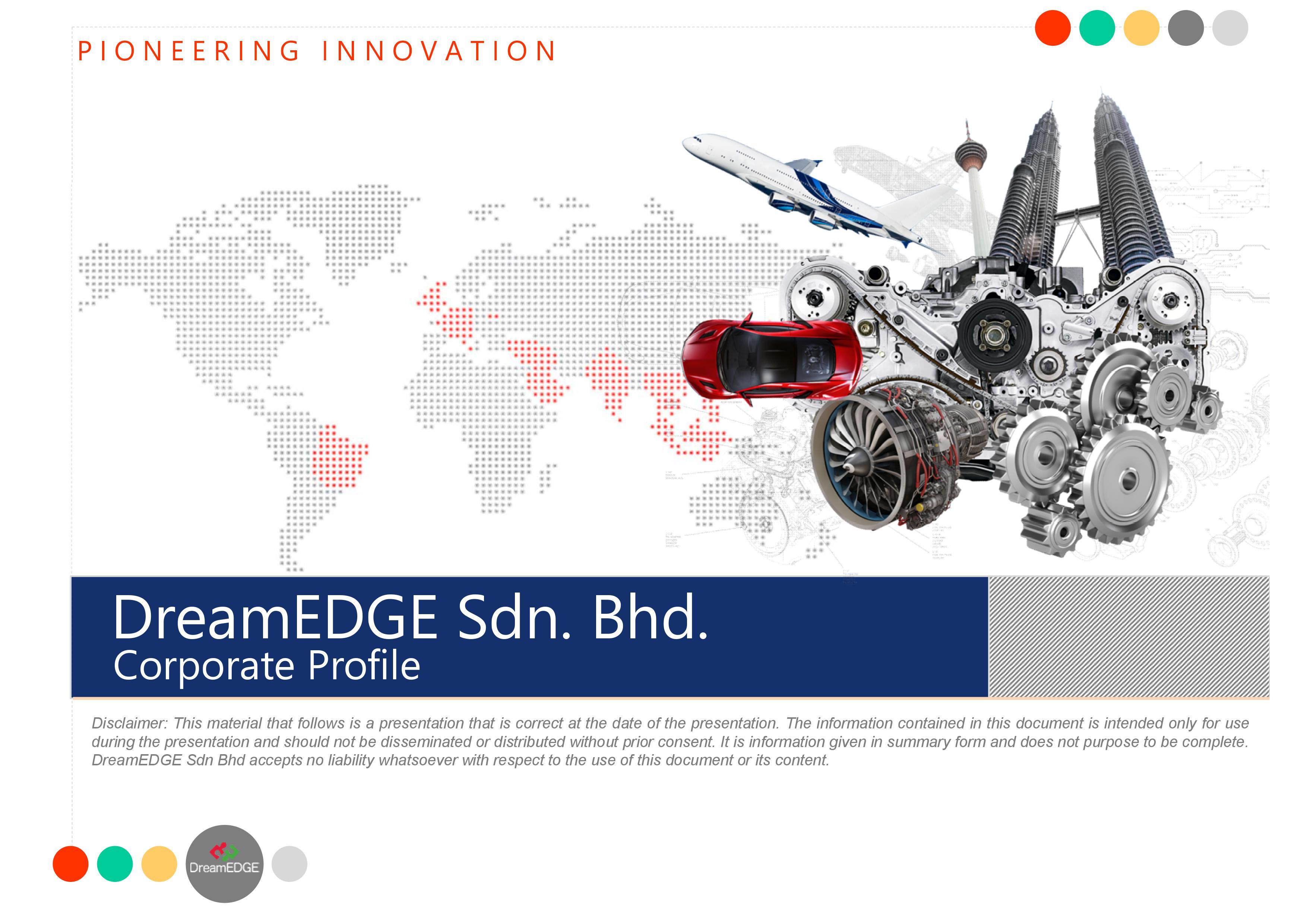 DreamEDGE Corporate Profile