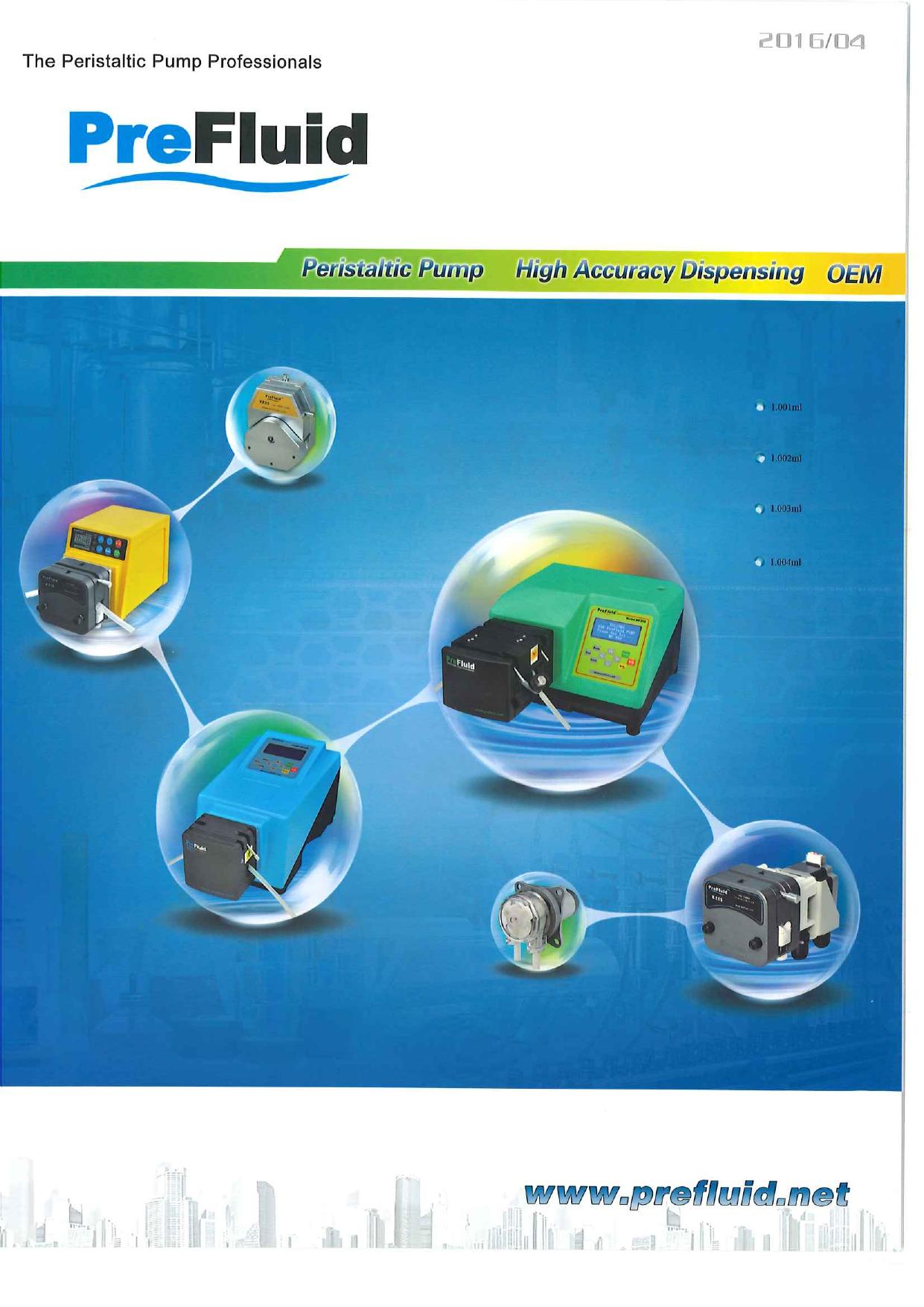 The Peristaltic Pump Professionals PreFluid