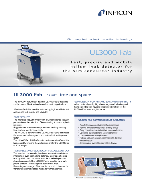 UL3000 Fab - save time and space