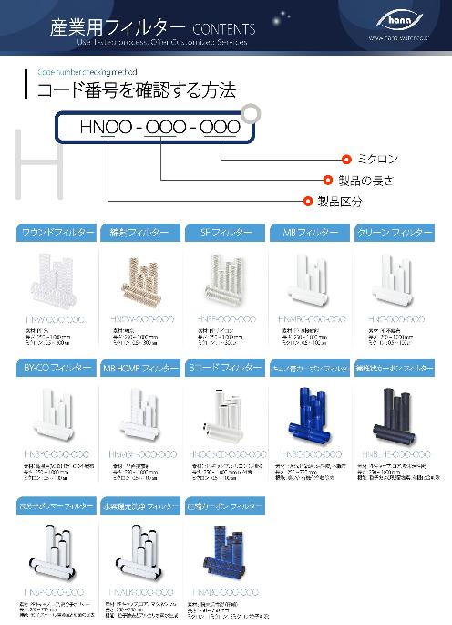 産業用フィルター / 浄水器用フィルター