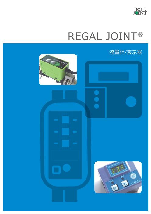 REGAL JOINT(R) 流量計/表示器