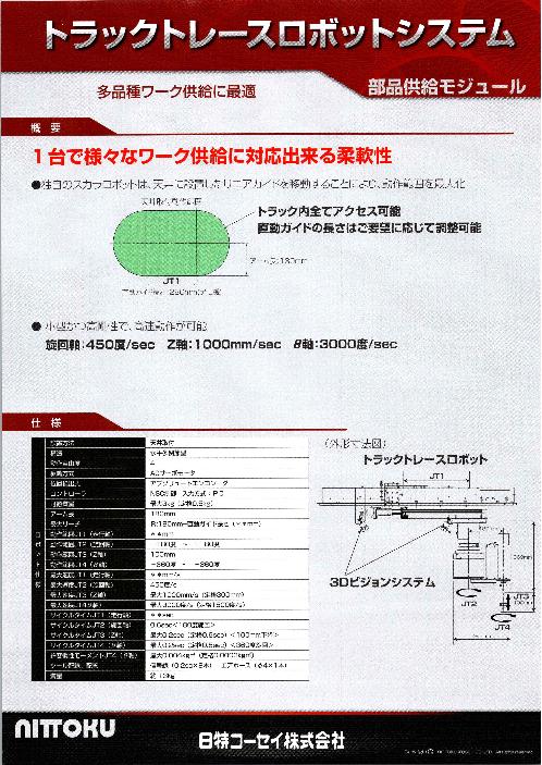 トラックレースロボットシステム 部品供給モジュール
