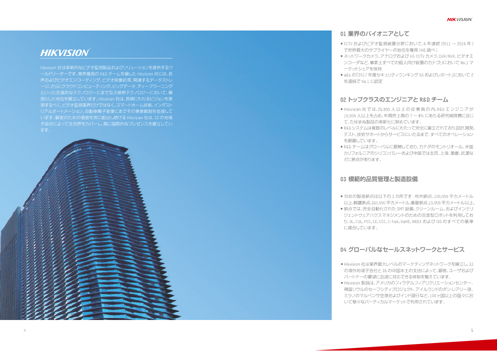 HIKVISION マシンビジョンプロダクト(株式会社Phoxter)のカタログ無料