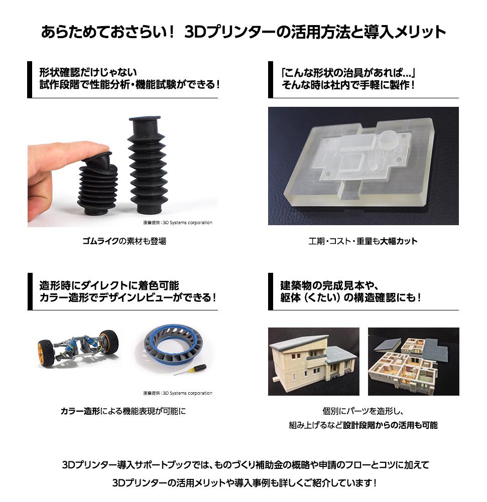 あらためておさらい! 3Dプリンターの活用方法と導入メリット
